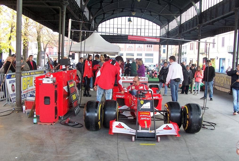 Ferrari F 2002 guidata da MSchumacher ne