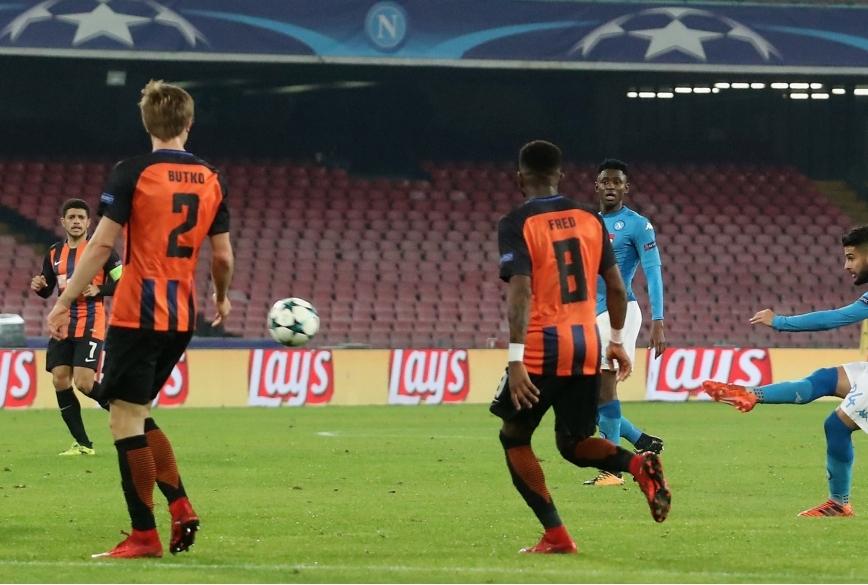 SSC Napoli v Shakhtar Donetsk - UEFA Cha