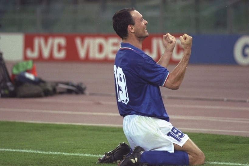 Salvatore Schillaci of Italy