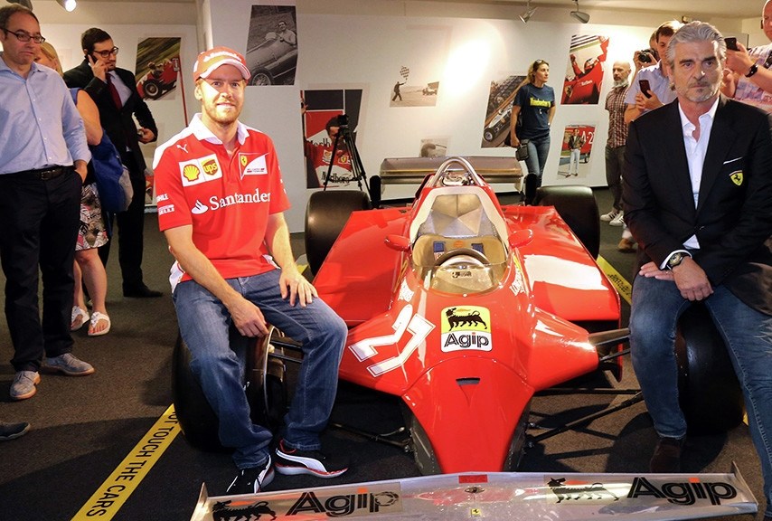 Un sogno per SebVincere su Ferrari