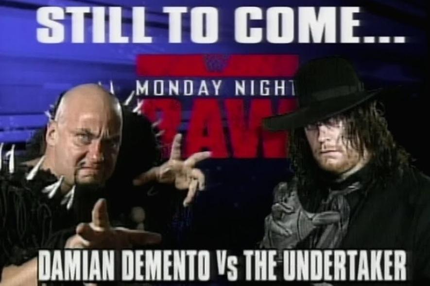 The Undertaker vs Damian Demento