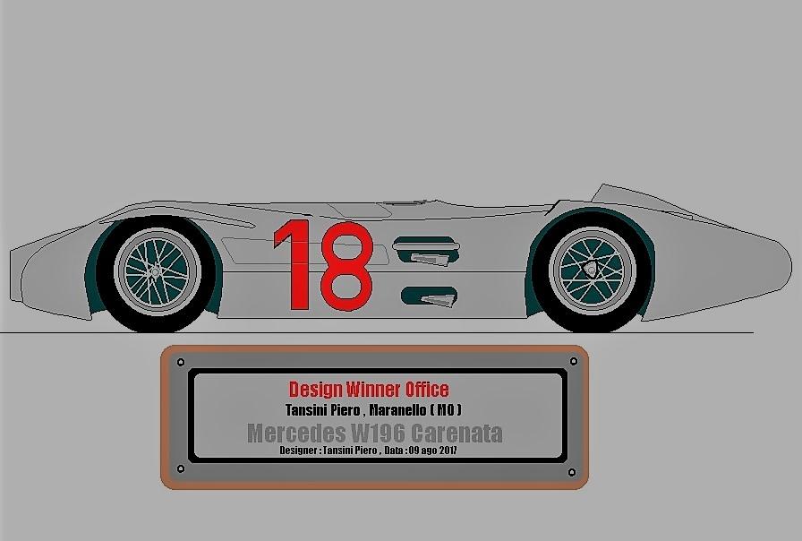 Anche negli anni 50 la Mercedes vinceva