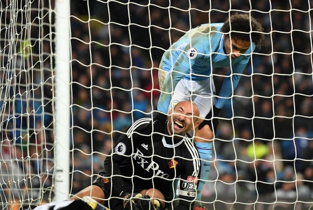 Manchester City v Watford - Premier Leag