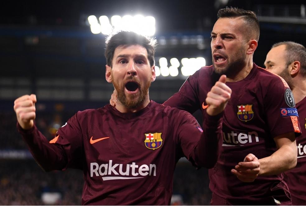 Chelsea FC v FC Barcelona - UEFA Champio