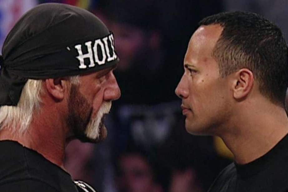 Hulk Hogan e The Rock
