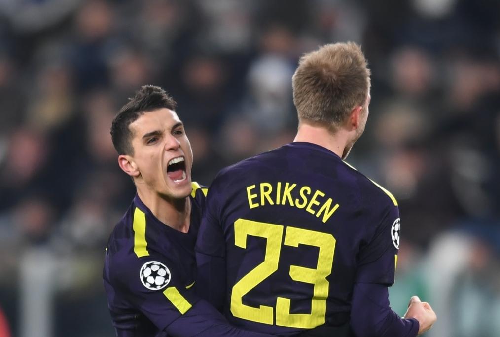 Juventus v Tottenham Hotspur - UEFA Cham