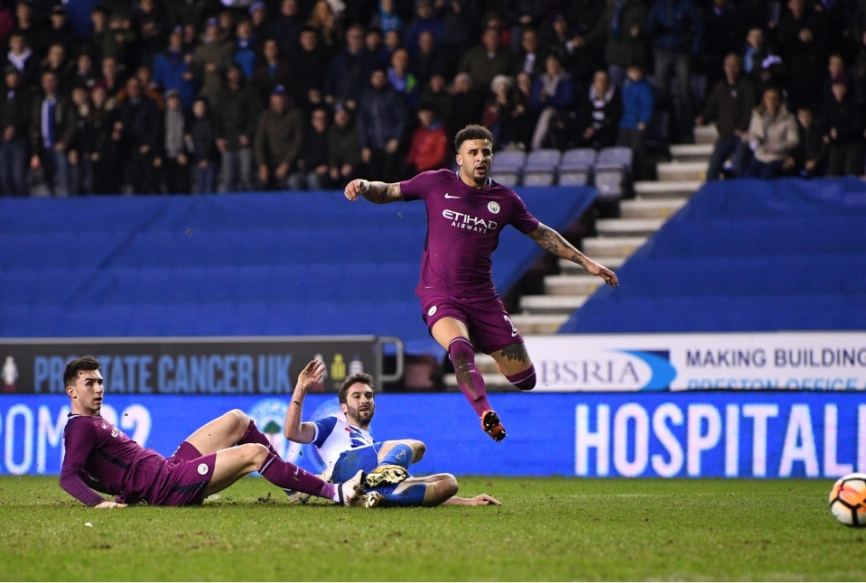 Wigan Athletic v Manchester City - The E