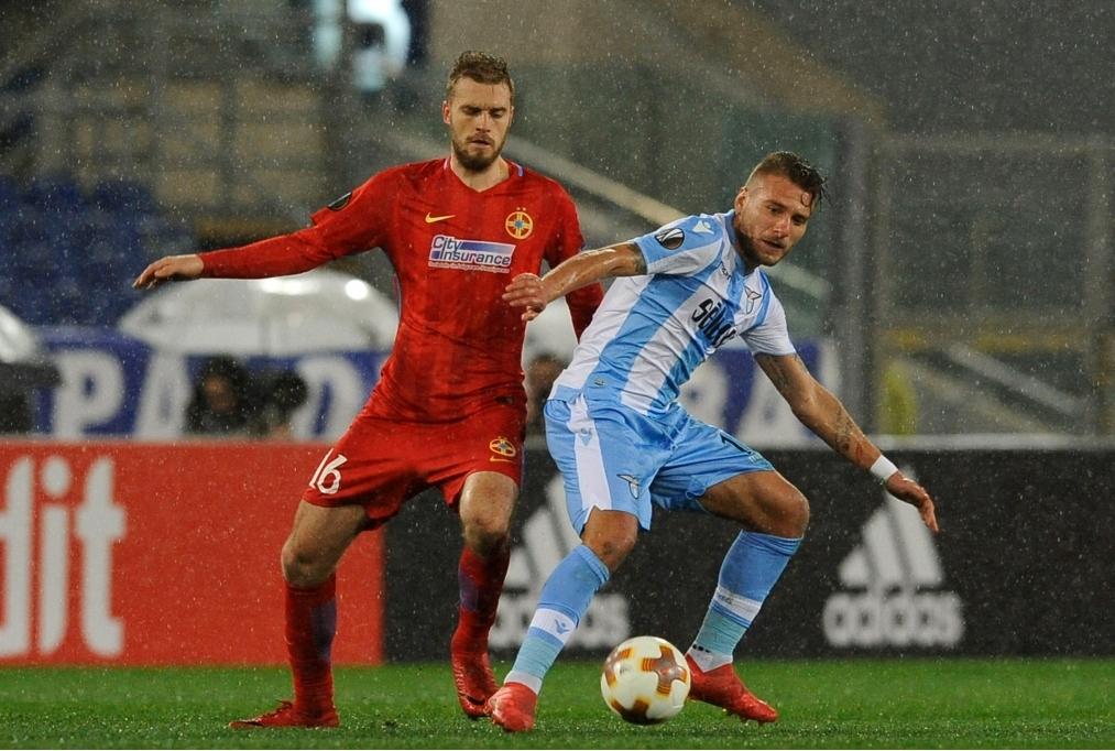 Lazio v Steaua Bucharest - UEFA Europa L