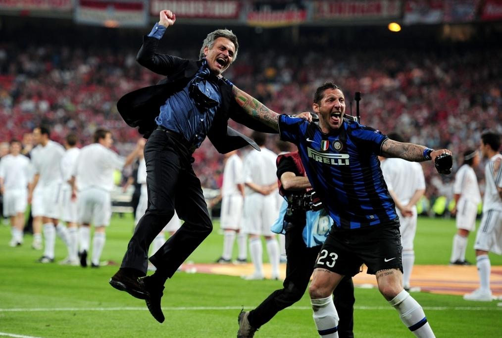 Materazzi e Mourinho