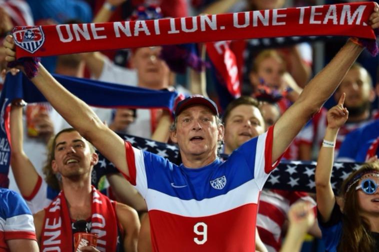 I fan della nazionale americana di calci