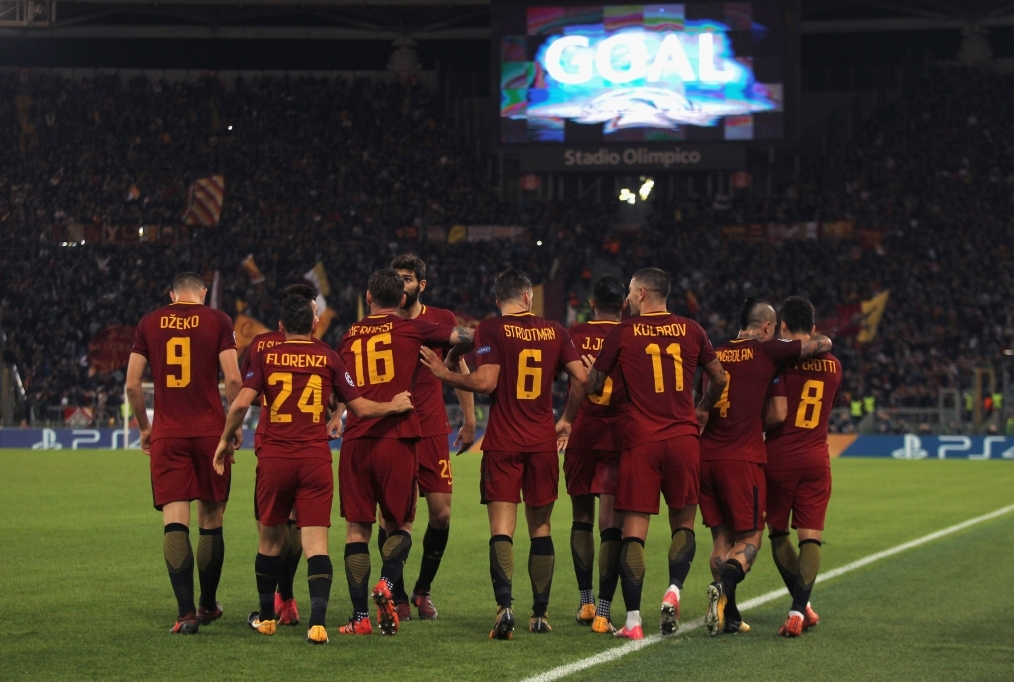 AS Roma UEFA Champions League