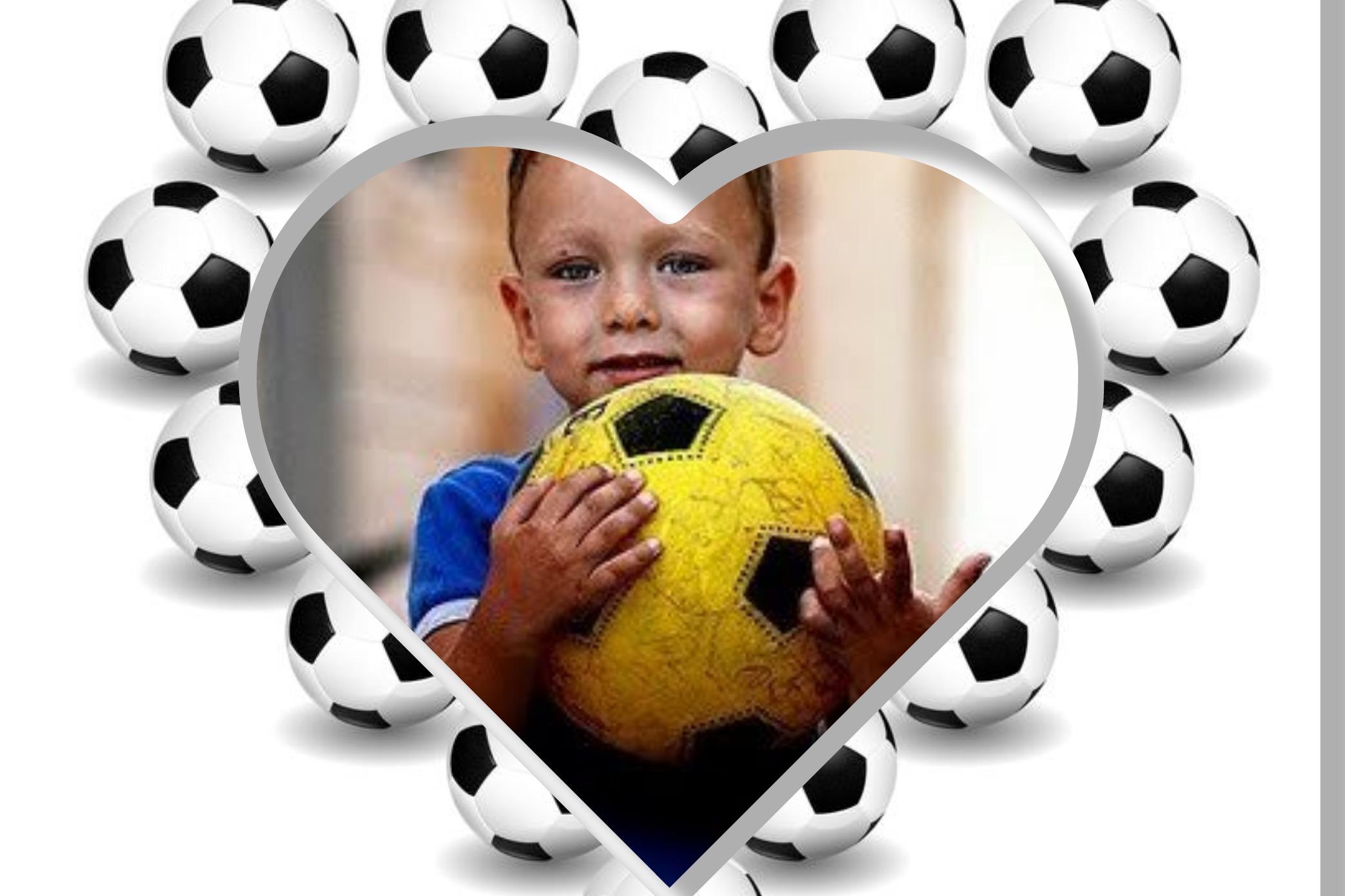 Tutto l'amore per il calcio