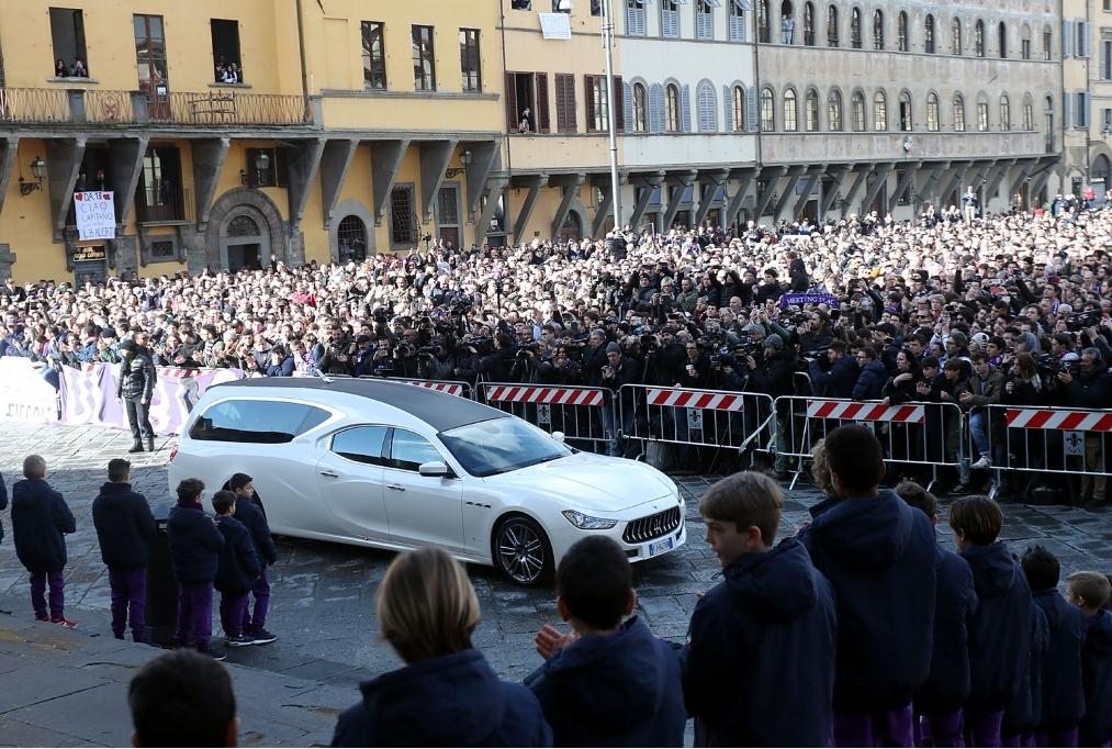 Davide Astori Funeral Service In Florenc