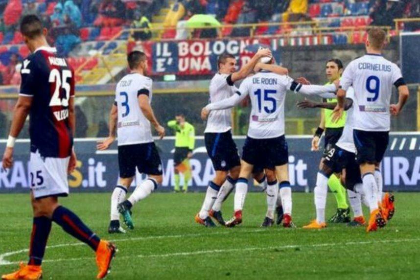 Esultanza dopo il gol di De Roon
