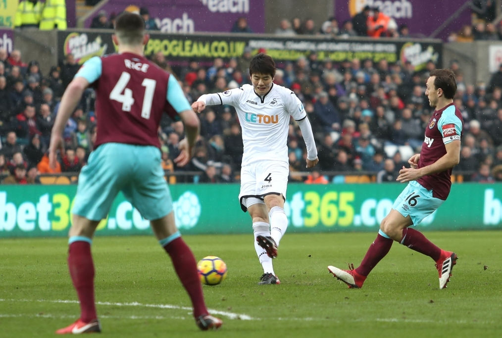 Swansea City v West Ham United - Premier