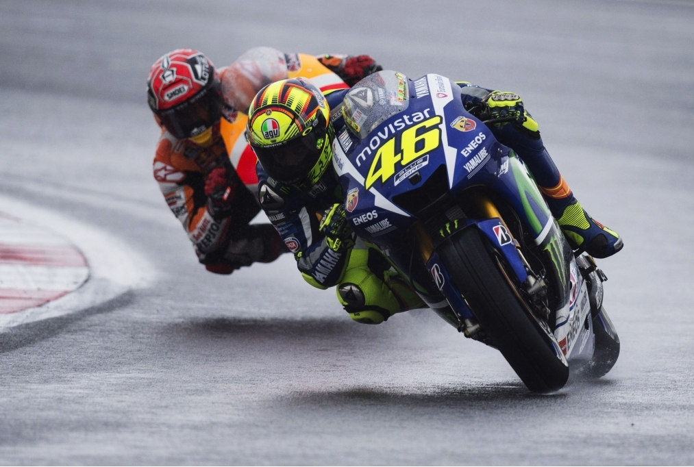 Rossi e Marquez