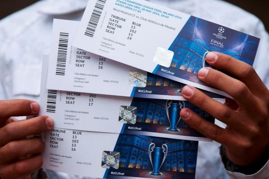 Biglietti di Champions League andati a ruba