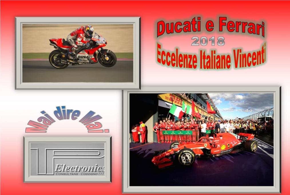 Ducati e Ferrarilitalia dei motori vince