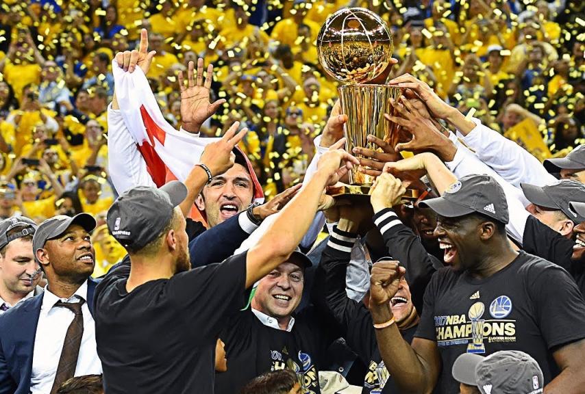 I Golden State Warriors campioni della N