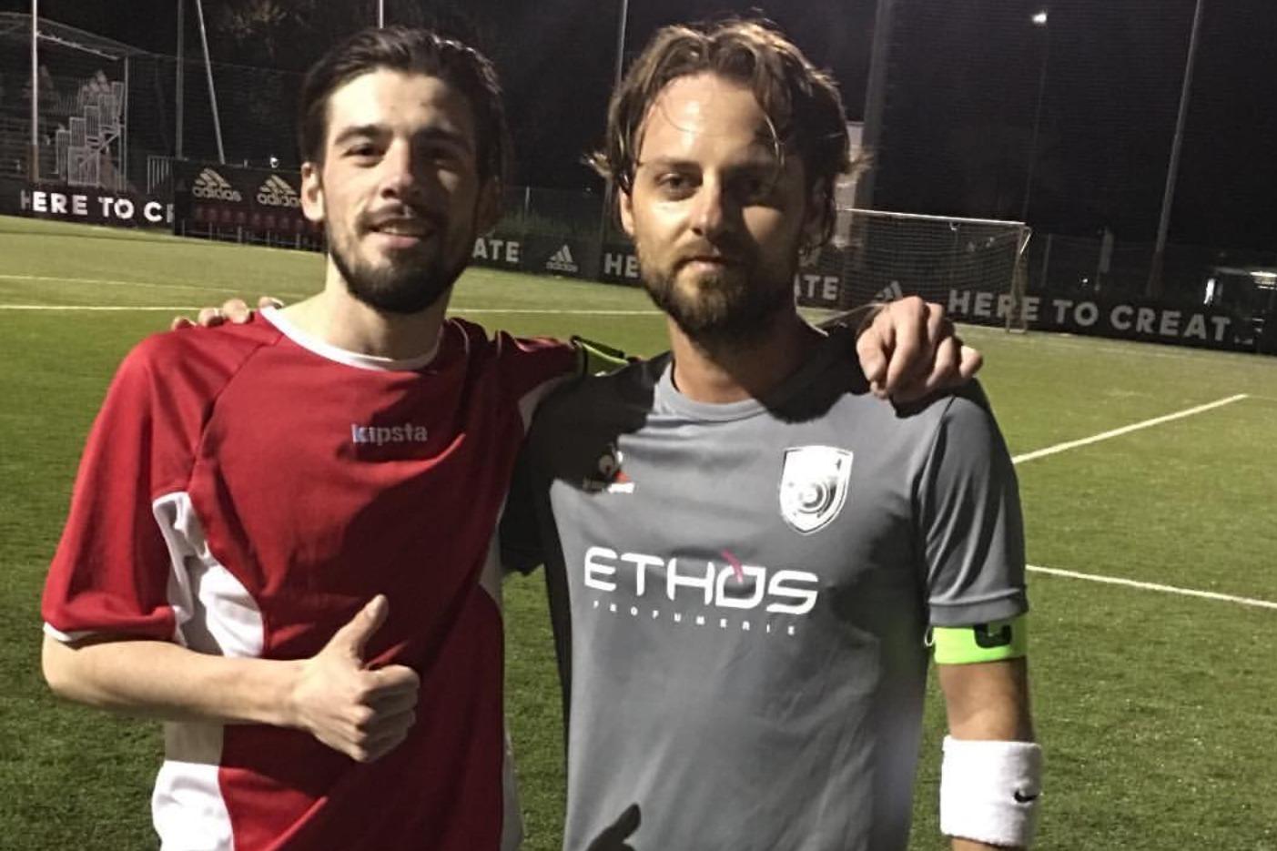 I capitani Gianluca e Eddy