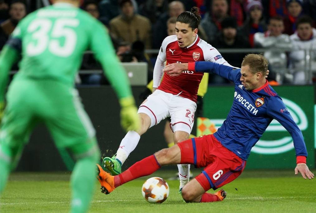 CSKA Moskva v Arsenal FC - UEFA Europa L