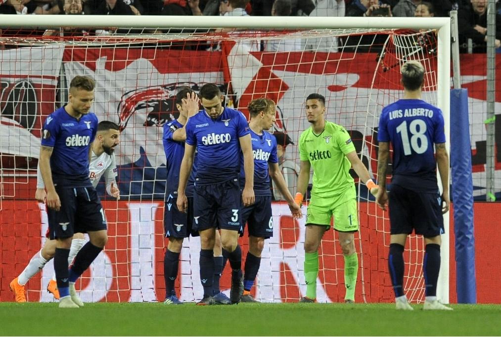 RB Salzburg v Lazio Roma - UEFA Europa L