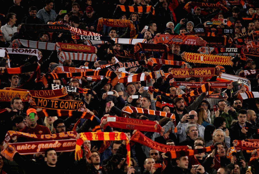 during the UEFA Europa League Round of