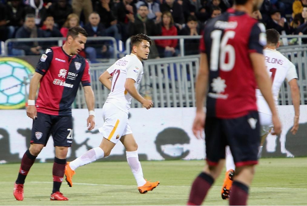 Cagliari Calcio v AS Roma - Serie A