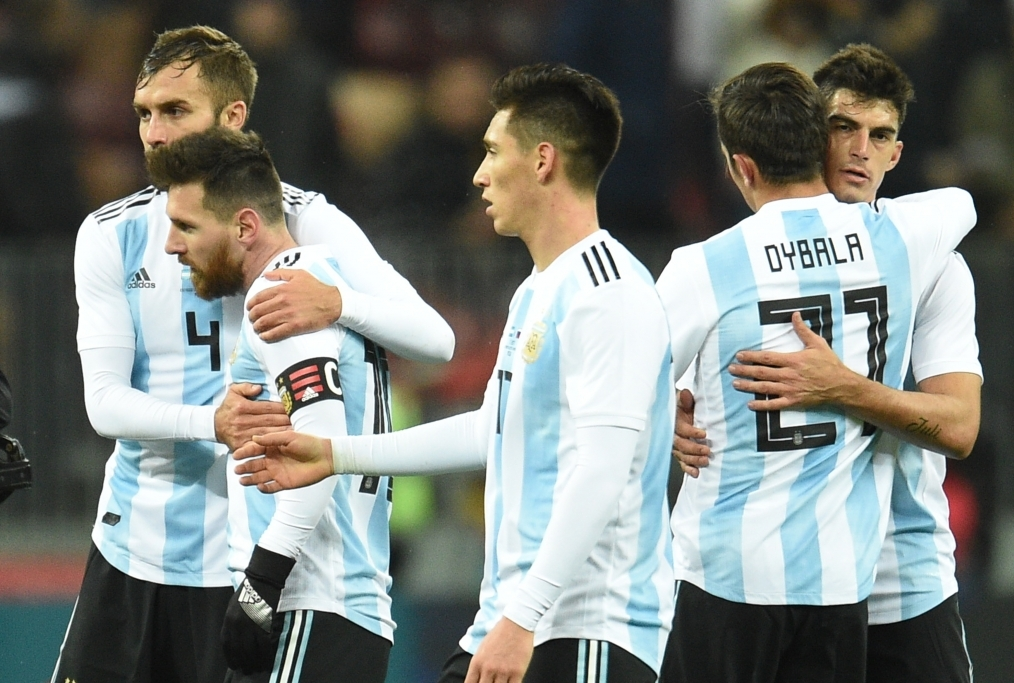 Russia vs Argentina - International Frie