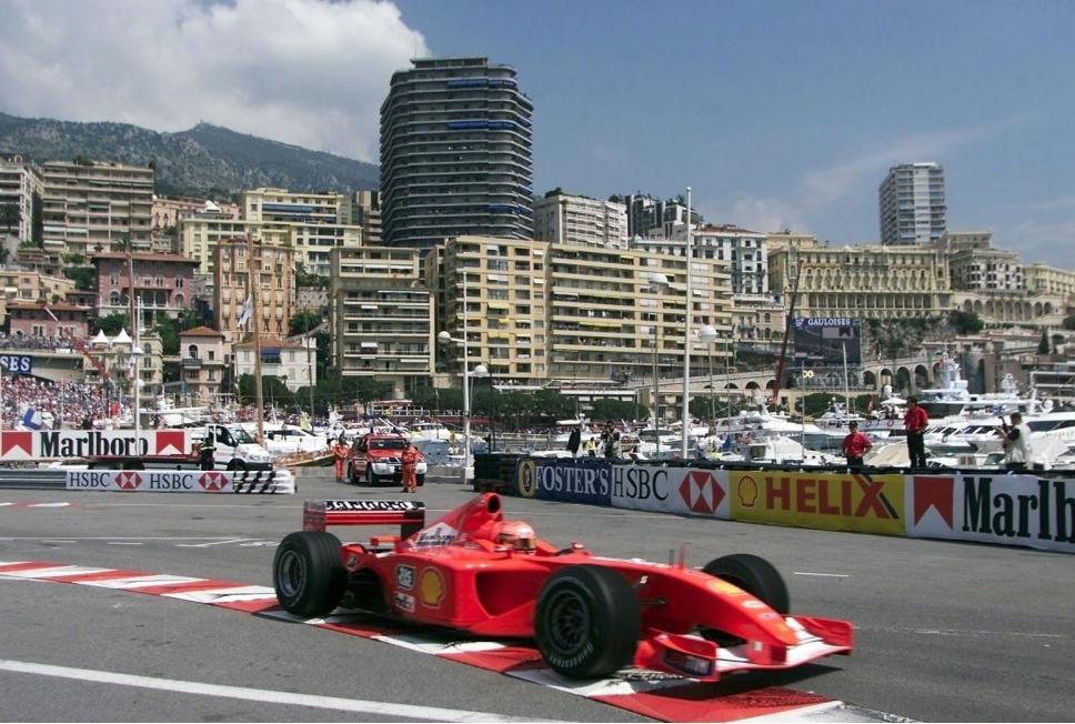 FORMEL 1 GP VON MONACO 2001FREIES TRAINI