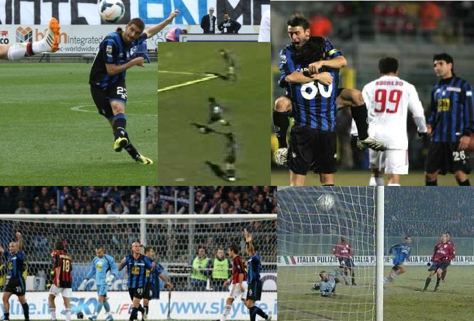 Top 5 Atalanta-Milan
