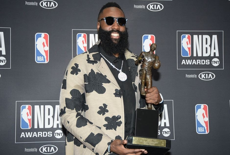 James Harden NBA Awards 2018