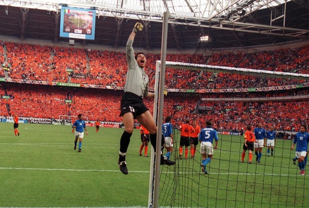 EURO 2000 semifinale Italia-Olanda