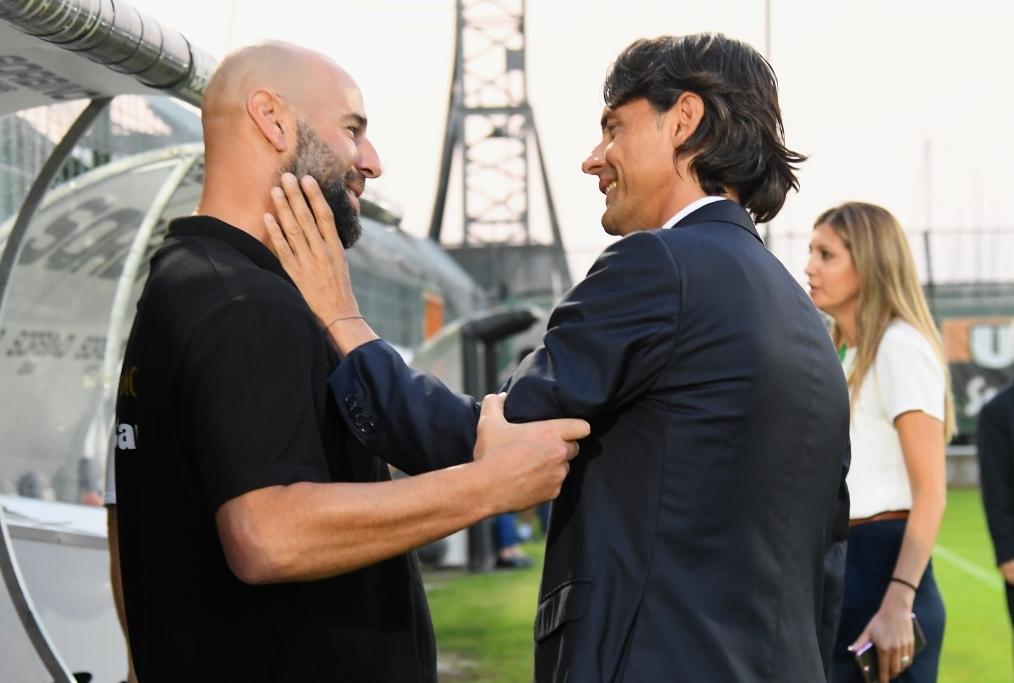 Inzaghi saluta il suo rivale Stellone