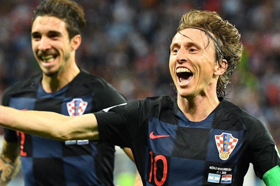 Argentina vs Croazia - Mondiali Russia 2018 | Modric