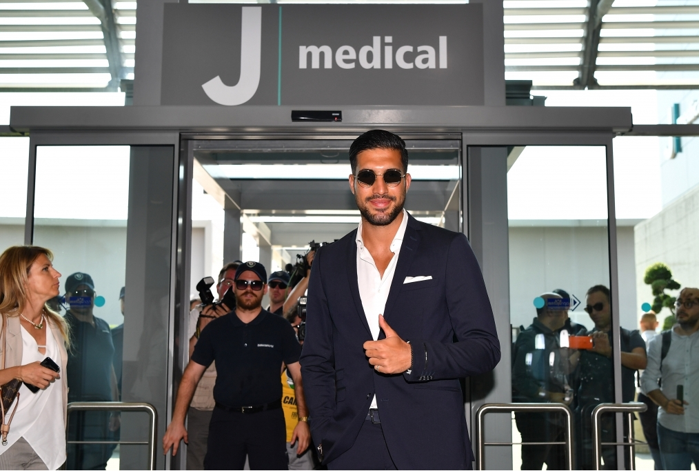 Emre Can Signs For Juventus