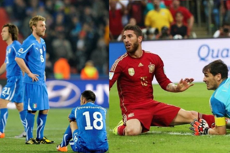 Delusione Italia-Spagna
