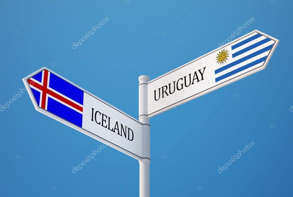 uruguay e islanda
