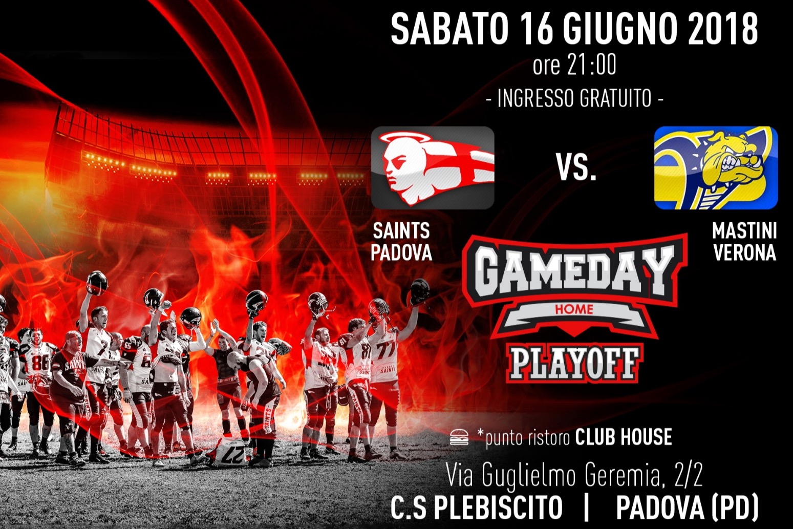 Saints Padova Mastini Verona Play Off