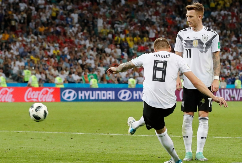 Kroos a segno Germania-Svezia 2-1