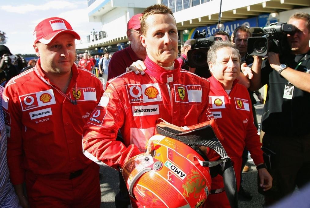 Michael Schumacher non lasciarci