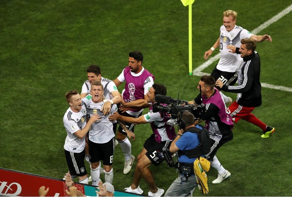 Germany v Sweden Group F - 2018 FIFA Wor