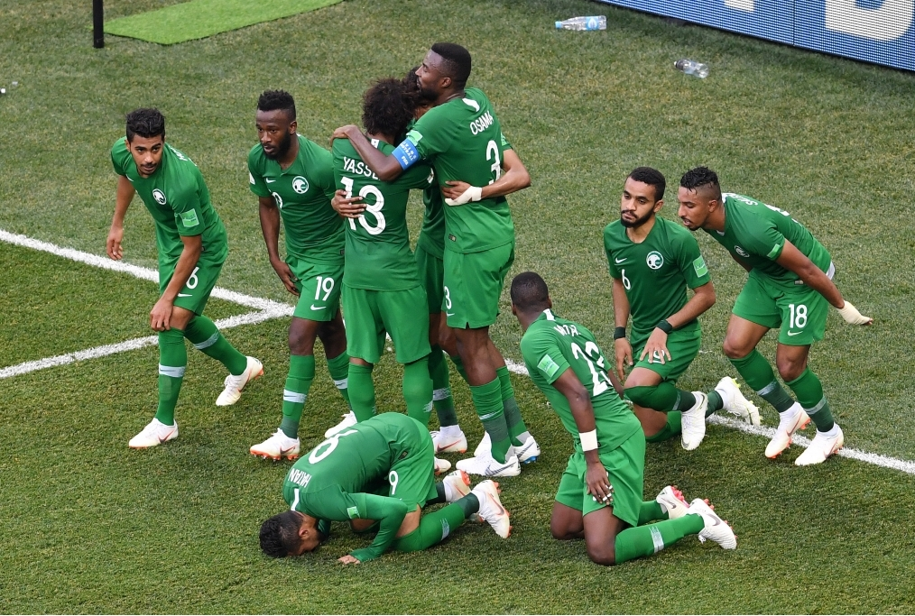 Saudi Arabia v Egypt Group A - 2018 FIFA