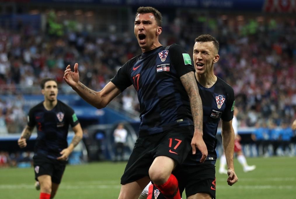 Croatia v Denmark Round of 16 - 2018 FIF