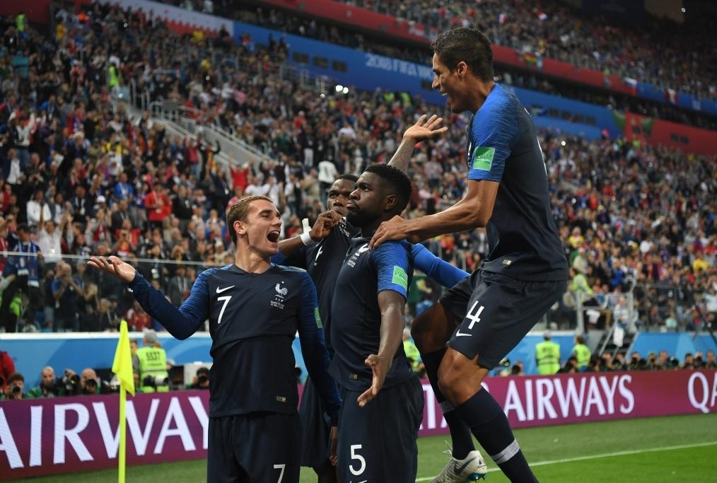 Belgium v France Semi Final - 2018 FIFA