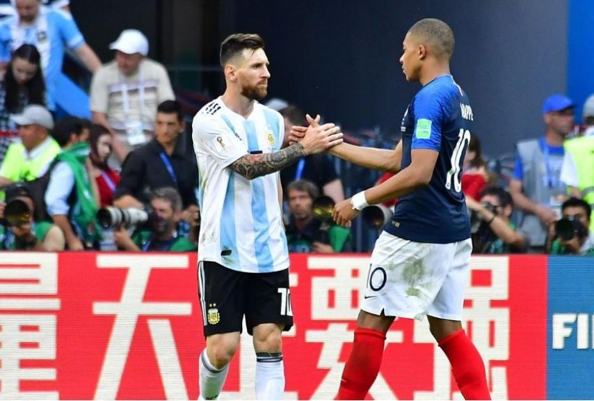 Francia vs Argentina - Russia 2018 Mess