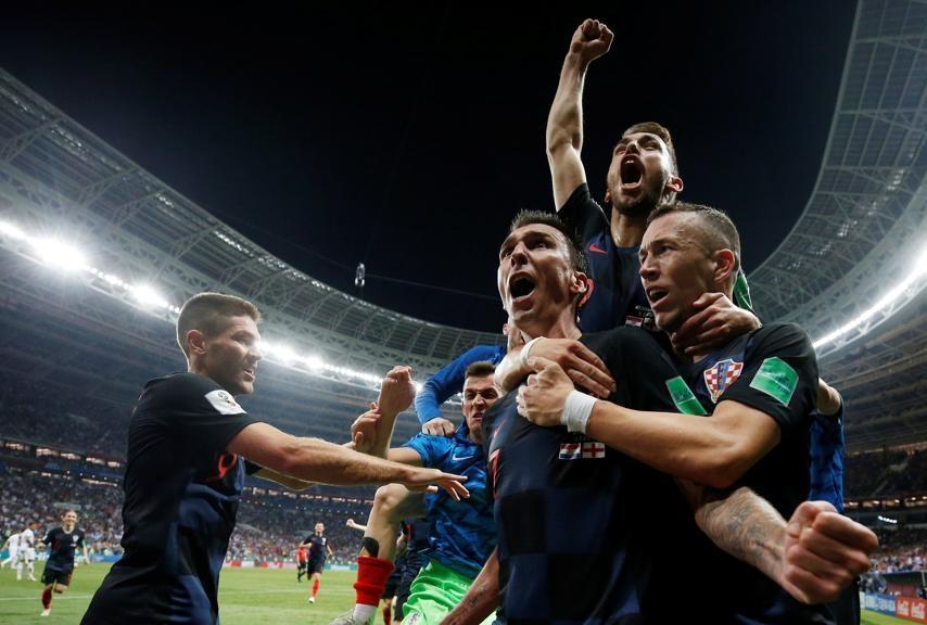 Inghilterra vs Croazia - Russia 2018 Ma