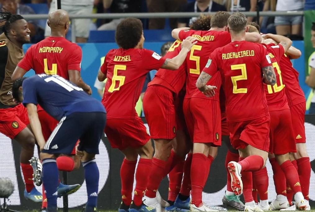 Belgio vs Giappone - Russia 2018