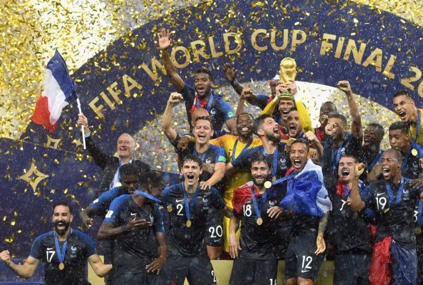 Francia campione del mondo Russia 2018