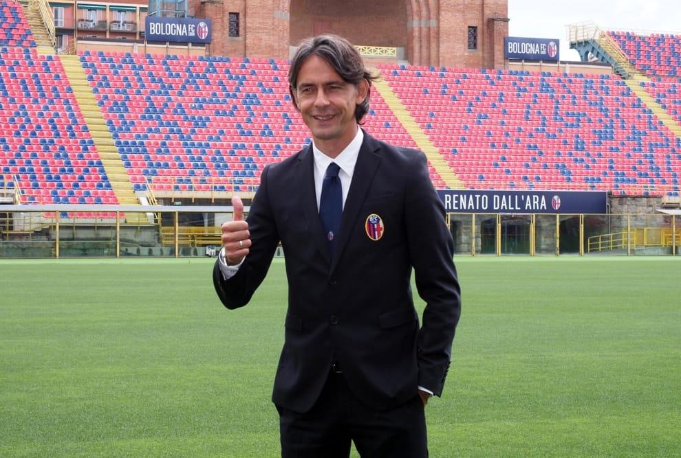 Pippo Inzaghi allo stadio DallAra